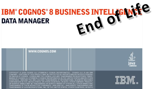 End of Life für den IBM-Cognos-DataManager